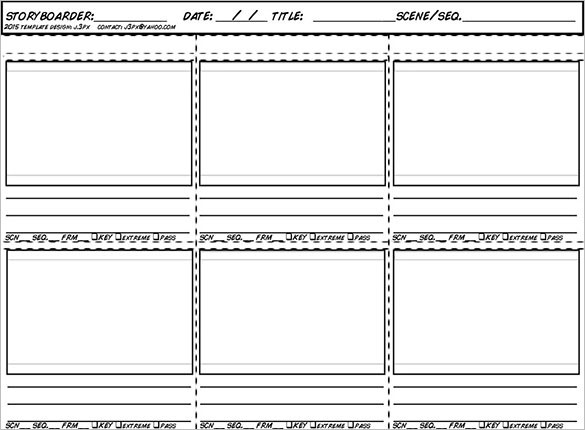 Animation-Storyboard-Template