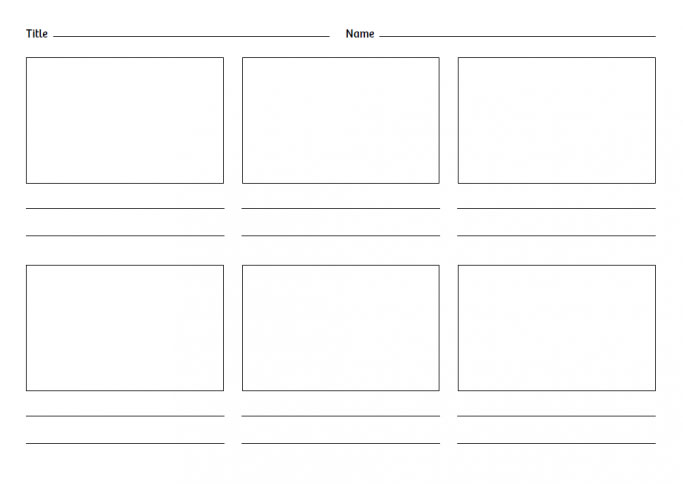 Blank-storyboard-template