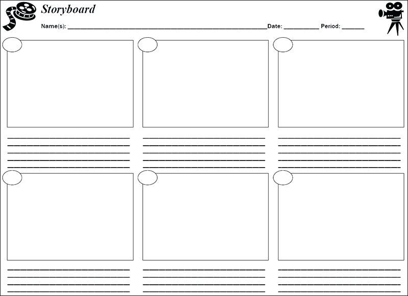 Storyboard-Template-Word